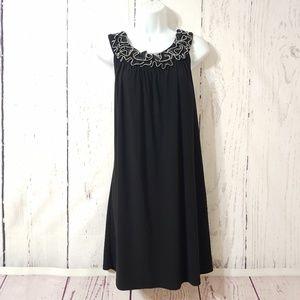 Blu Sage Black Swing Dress